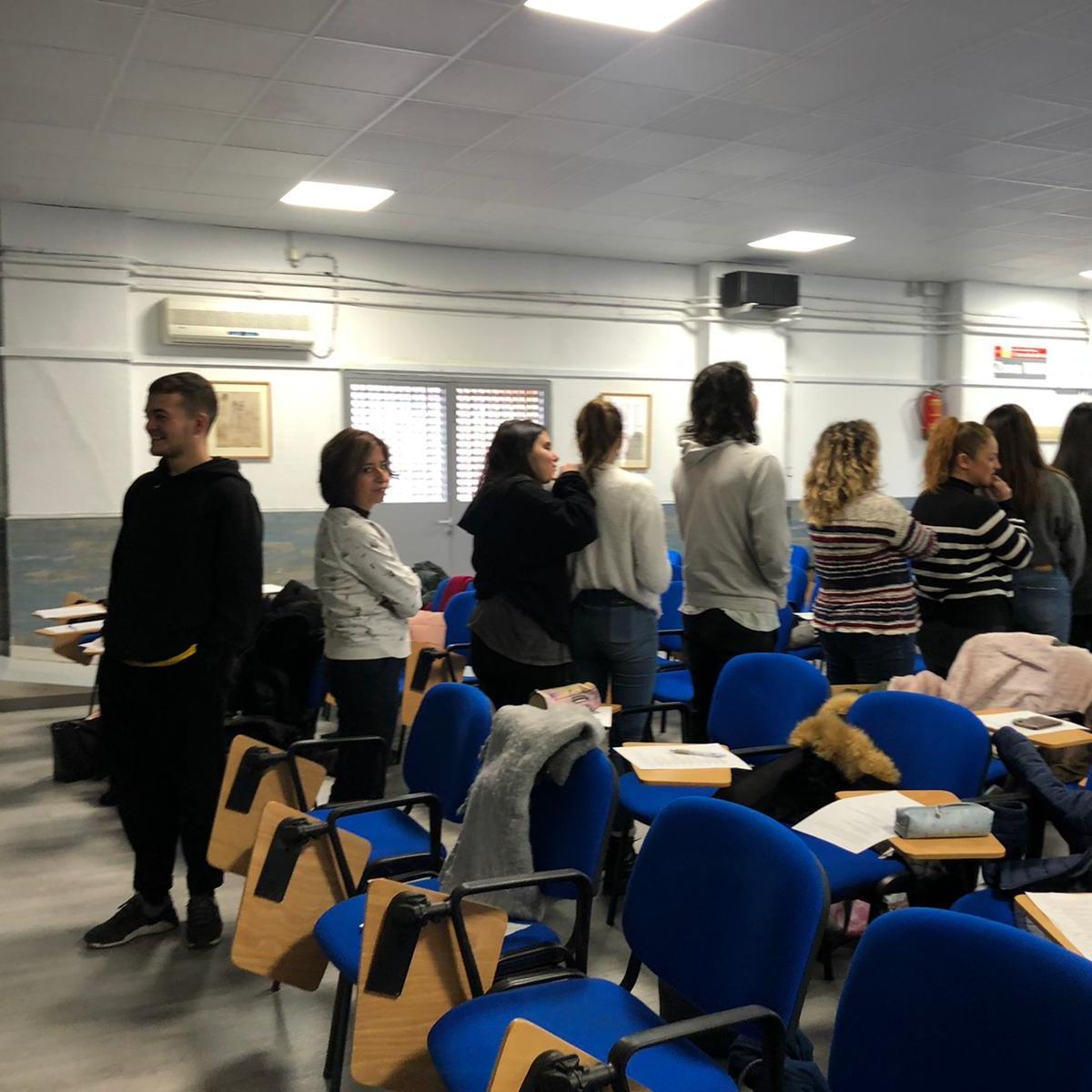 Actividad de Habilidades Sociales con alumnos del IES Leonardo Da Vinci